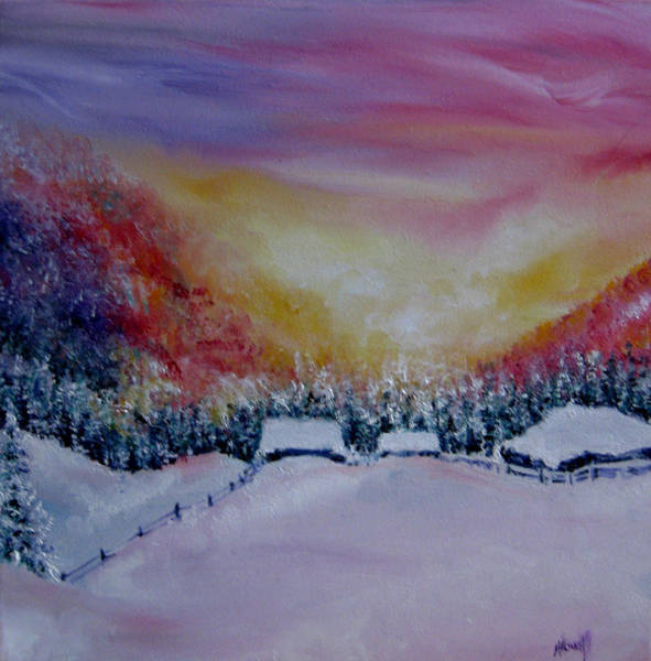 Buried Painting - Snug As A Bug by N Howell