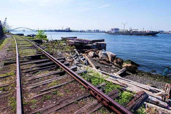 Photograph - Snug Harbor Railway by S Paul Sahm