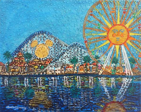 Painting - So Cal Adventure by Amelie Simmons