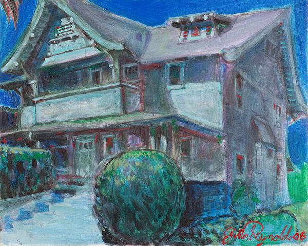 Painting - So Cal House by John Reynolds