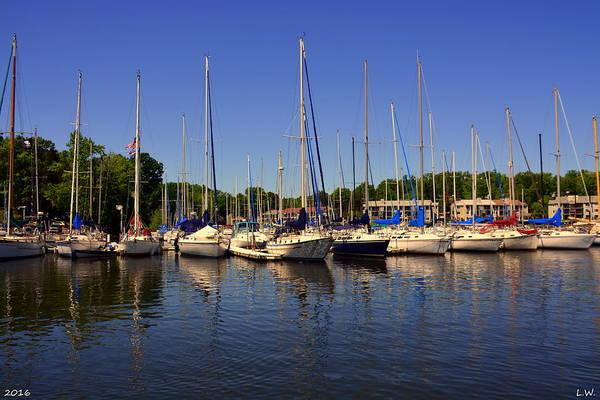 Photograph - So Many Sailboats by Lisa Wooten