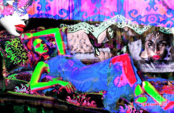 Digital Art - So Vibrant by John Rizzuto