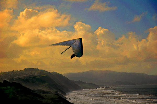 Kite Photograph - Soaring by Jeff Burgess