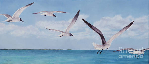 Painting - Soaring by Roshanne Minnis-Eyma