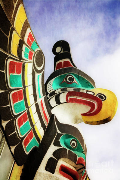 Photograph - Eagle Totem by Scott Kemper
