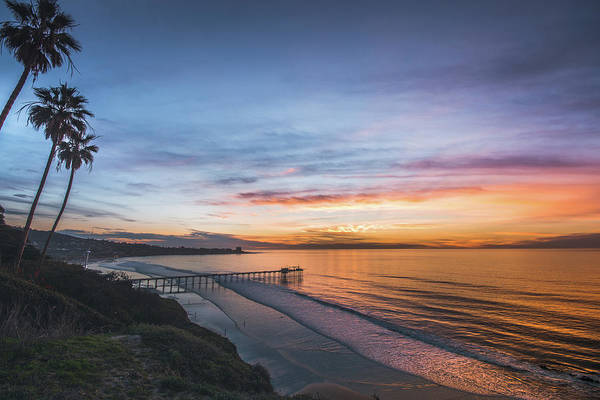Scripps Pier Photograph - Socal Vibe by Mark Aquino