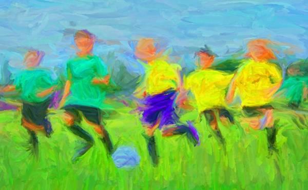 Digital Art - Soccer 3 by Caito Junqueira