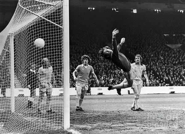 Photograph - Soccer Match, 1977 by Granger