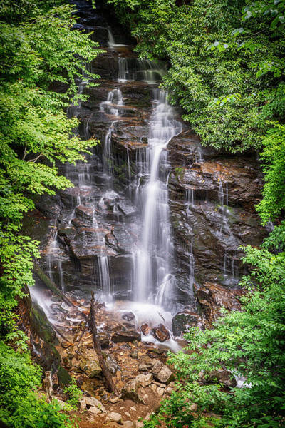 Wall Art - Photograph - Socco Falls by Stephen Stookey