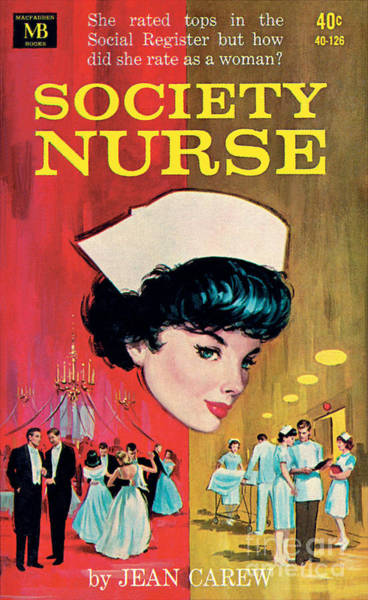 Painting - Society Nurse by Robert Maguire