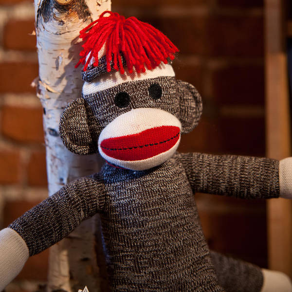 Sock Monkey Photograph - Sock Monkey by Edward Myers