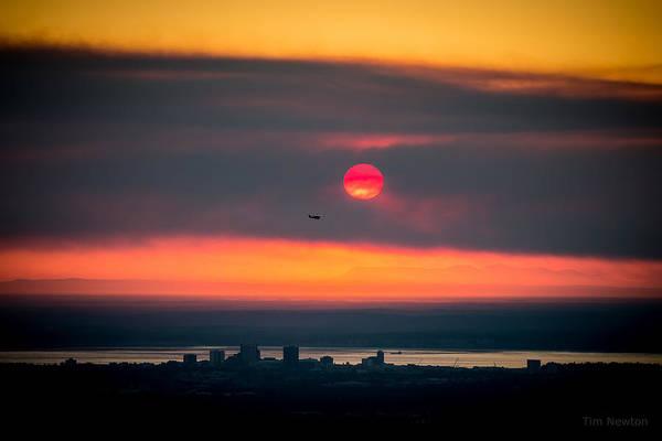 Photograph - Sockeye Fire by Tim Newton