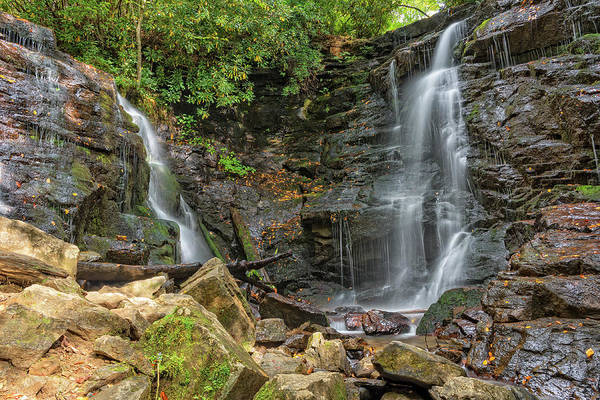 Photograph - Soco Falls by Jim Vallee