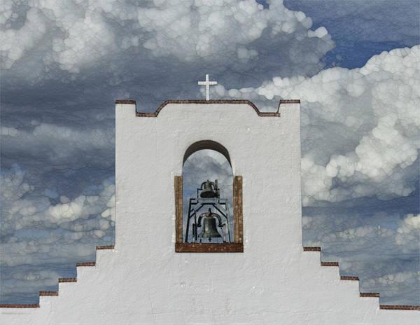 Wall Art - Painting - Socorro Mission by Jack Zulli