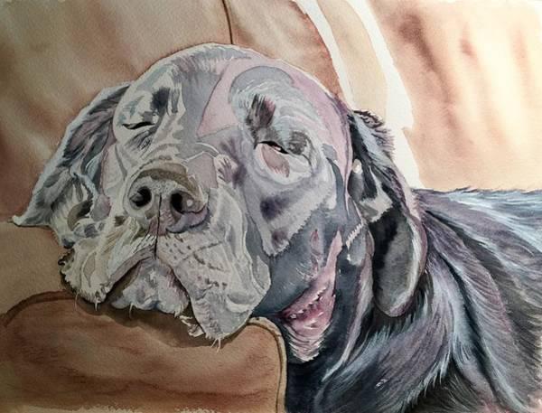 Painting - Sofa Sleeper by Sonja Jones
