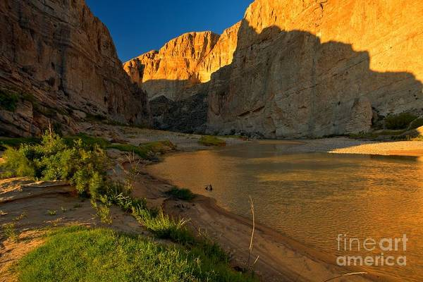 Photograph - Soft Afternoon Light At Boquillas by Adam Jewell