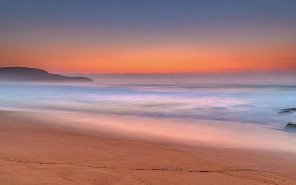 Killcare Photograph - Soft And Hazy Dawn Seascape by Merrillie Redden