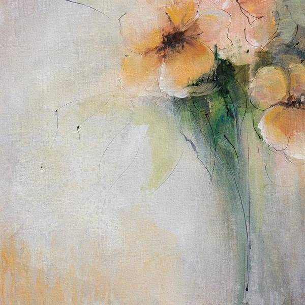Wall Art - Painting - Soft Echo  by Karen Hale