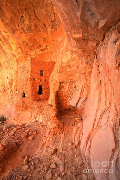 Photograph - Soft Glow On Tower House by Adam Jewell