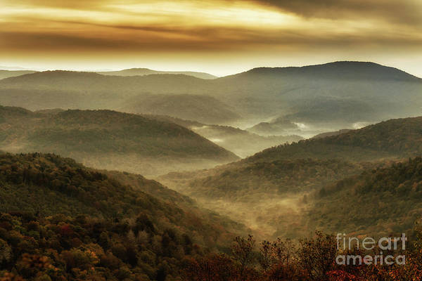 Photograph - Soft Morning In The Mountains by Thomas R Fletcher