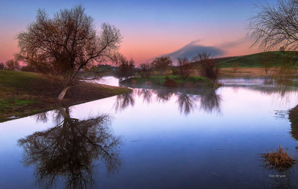 Photograph - Soft Morning Reflection by Tim Bryan