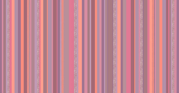 Digital Art - Summer Breeze - Soft Pink And Purple Stripes by Val Arie