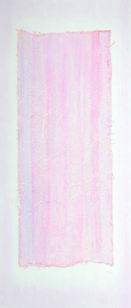 Inking Painting - Soft Purple Essence  by Asha Carolyn Young