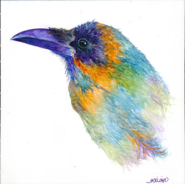 Painting - Soft Raven by Jan Killian