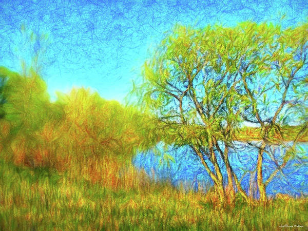 Digital Art - Softly As A Spring Day by Joel Bruce Wallach