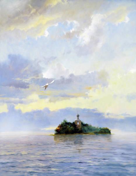 Russian Impressionism Wall Art - Mixed Media - Softly Fly Away by Isabella Howard