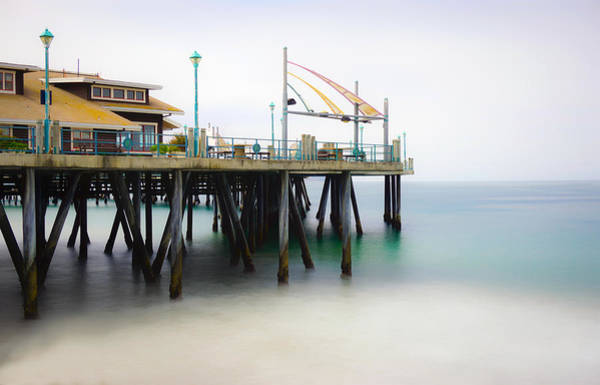 Photograph - Softly On The Pier by Michael Hope