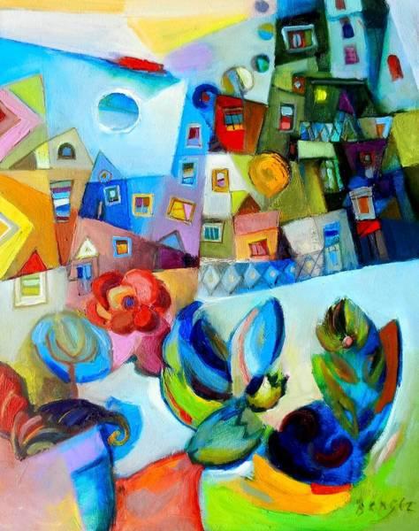 Primavera Painting - Sogno Di Primavera by Miljenko Bengez