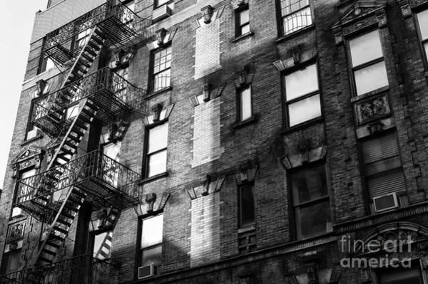 Photograph - Soho Shadows by John Rizzuto