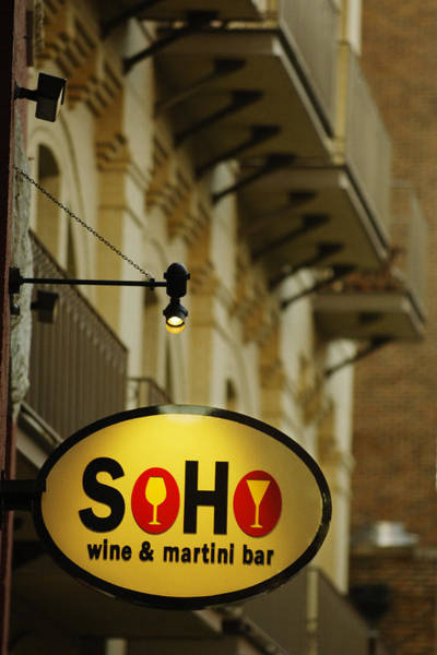 Photograph - Soho Wine Bar by Jill Reger