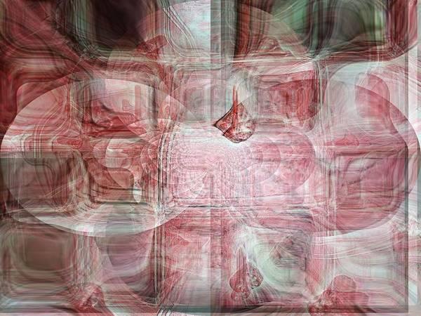 Harp Mixed Media - Soi Silk by Fania Simon