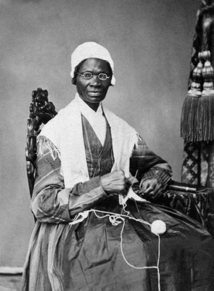 Slavery Photograph - Sojourner Truth Portrait  by War Is Hell Store