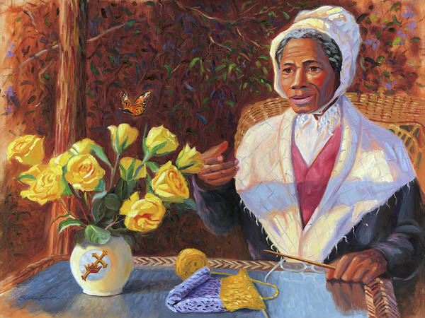 Truth Painting - Sojourner Truth by Steve Simon