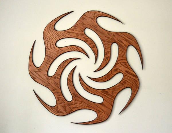 Wall Art - Sculpture - Sol Seven, Fire And Water by Matthew Ridgway