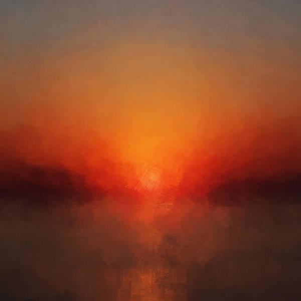 Bailey Digital Art - Solar Departure by Lonnie Christopher