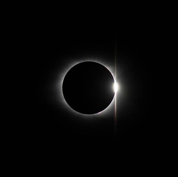 Photograph - Solar Eclipse 1437 by William Bitman
