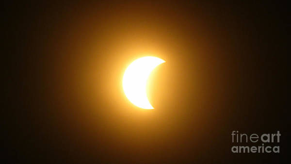 Photograph - Solar Eclipse 2017 Columbus Oh 43224e by Robert Knight