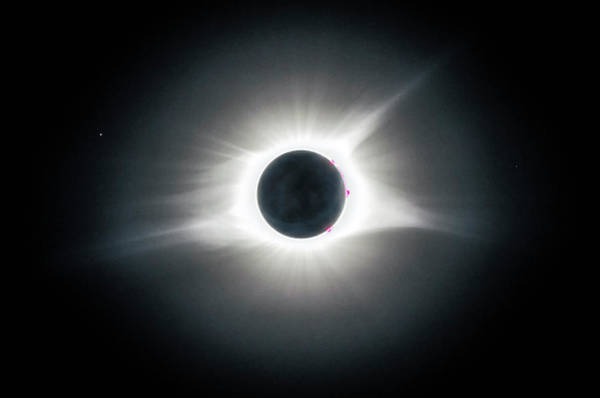Photograph - Solar Eclipse 2017 Hdr by Greg Reed
