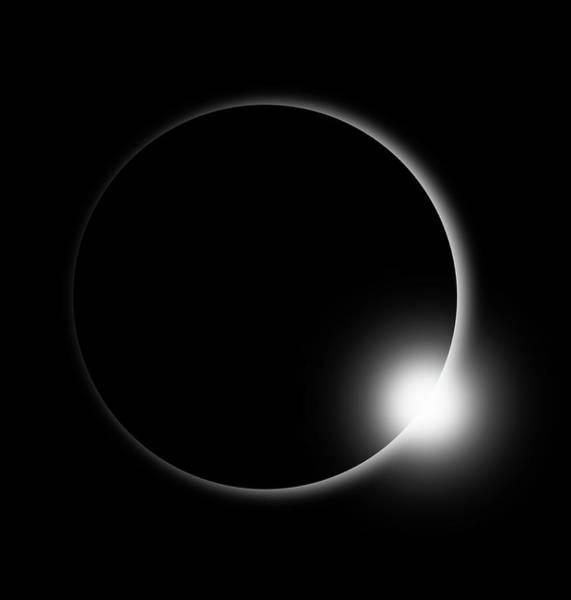 Digital Art - Solar Eclipse Aug 21 2017 by Ericamaxine Price