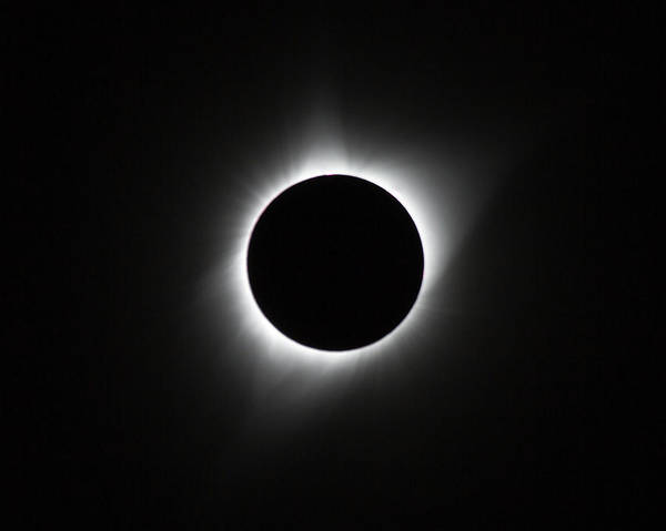 Photograph - Solar Eclipse, August 2017 by M C Hood