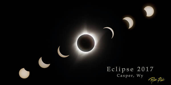Photograph - Solar Eclipse Collage 3 by Rikk Flohr