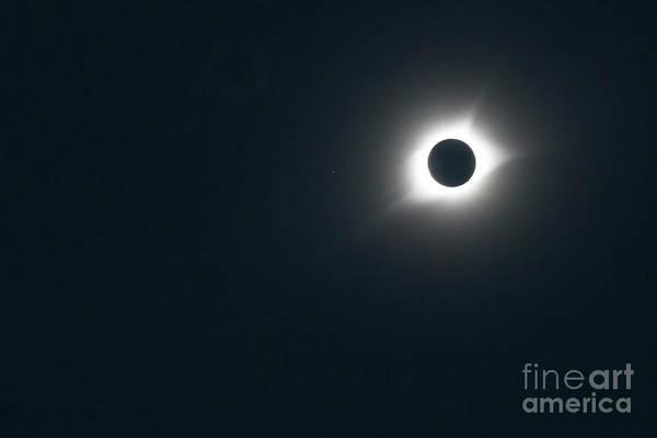 Photograph - Solar Eclipse by Jim West