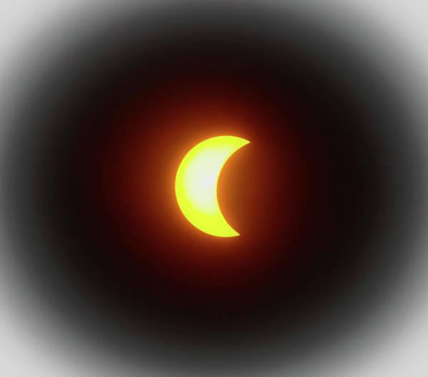 Wall Art - Photograph - Solar Eclipse by Karen Wiles