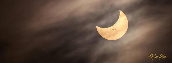 Photograph - Solar Eclipse by Rikk Flohr