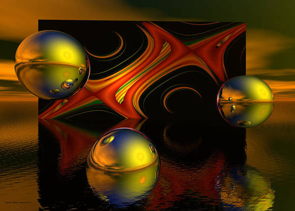 Wall Art - Digital Art - Solar Eclipse by Sandra Bauser Digital Art