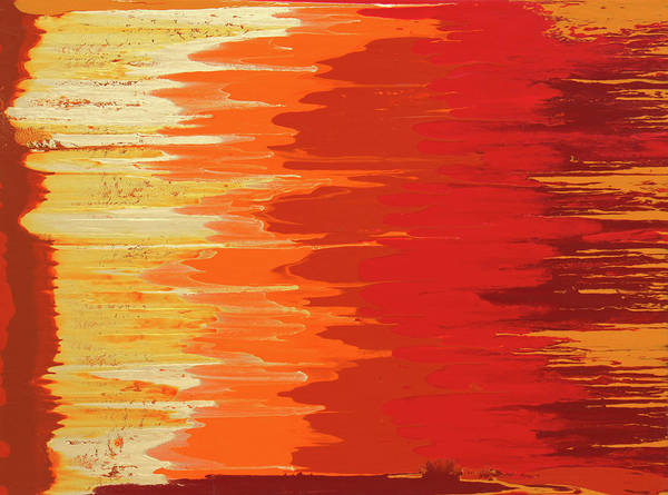 Painting - Solar Flame by Ralph White